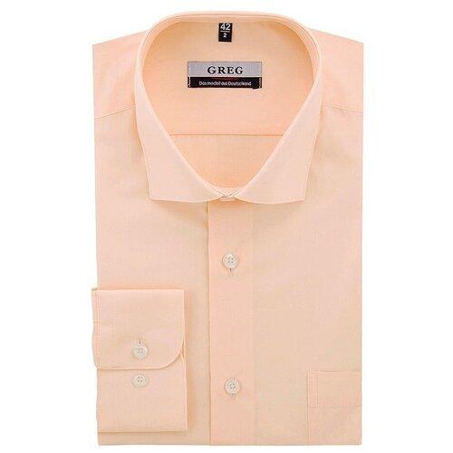 Рубашка GREG персиковый