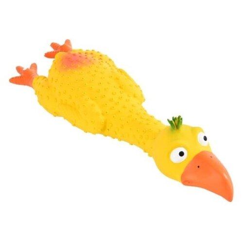 Курица для собак Homepet (72534) желтый