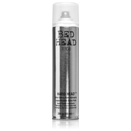 TIGI / Лак для волос суперсильной фиксации BED HEAD HARD HEAD, 385 мл tigi лак для блеска и фиксации masterpiece bed head 340 мл