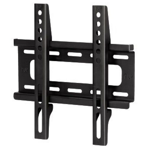 Фото - Кронштейн для телевизора Hama H-108714 черный 10-46 макс.25кг настенный фиксированный кронштейн hama r1 118156 до 25кг black