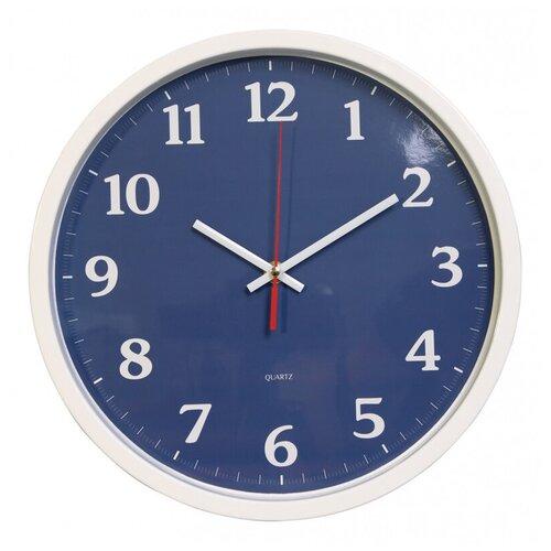 Настенные часы Бюрократ WallC-R66P белый (wallc-r66p30/white)