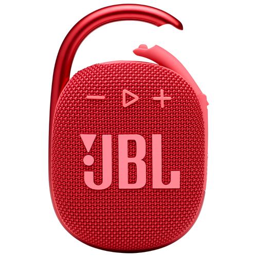Портативная акустика JBL Clip 4, 5 Вт, красный