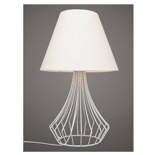 Лампа настольная Северный свет Алмаз белый