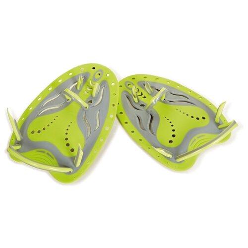 Лопатки для плавания Zoggs Matrix, зеленый
