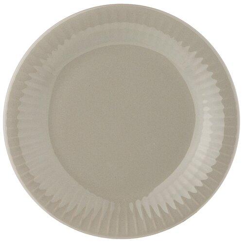 Тарелка закусочная majesty 20,5см серая Lefard (143565)
