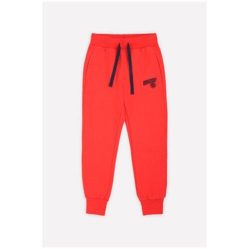 Купить Брюки crockid размер 122, ярко-красный к1259