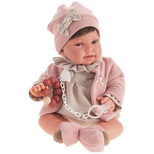 Фото - Кукла Antonio Juan Елена в розовом, 40 см, 3306 кукла antonio juan антония в розовом 40 см 3376p
