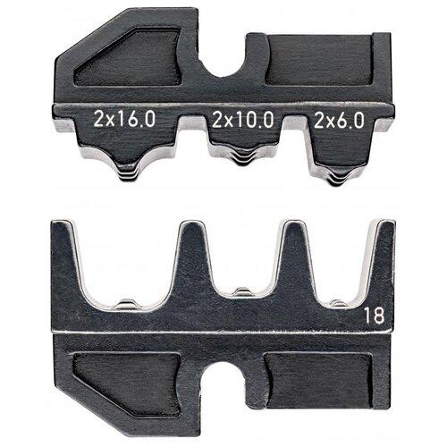 Головка для кримпера Knipex 97 49 18 черный