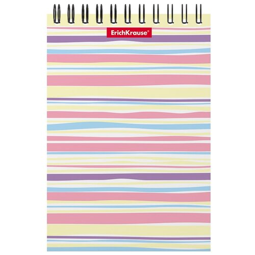 Купить Блокнот ErichKrause Pastel Lines А6, 60 листов (53123), Блокноты