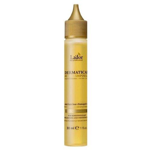 LADOR Филлер против выпадения волос DERMATICAL ACTIVE AMPOULE 30 мл