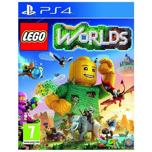PS4 Lego Worlds (английская версия)