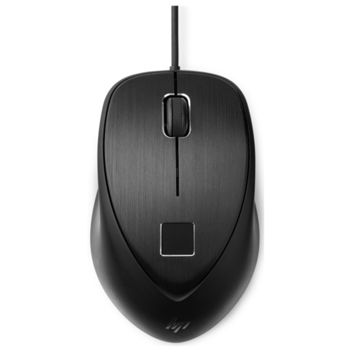 Мышь HP Fingerprint черный