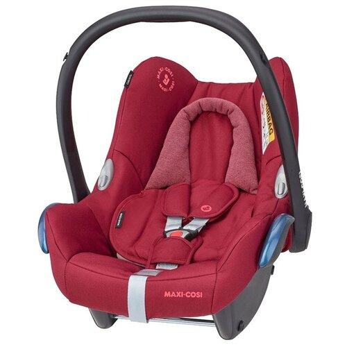 Автокресло-переноска группа 0+ (до 13 кг) Maxi-Cosi CabrioFix + FamilyFix, essential red автокресло группа 1 2 3 9 36 кг little car ally с перфорацией черный