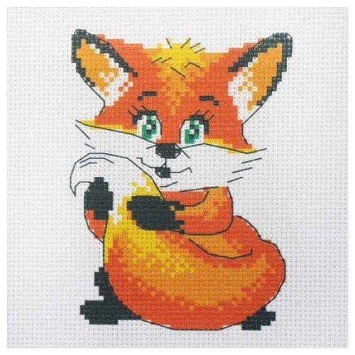 Купить 205 Набор для вышивания Hobby & Pro Kids'Лисенок' 19*19см, Наборы для вышивания