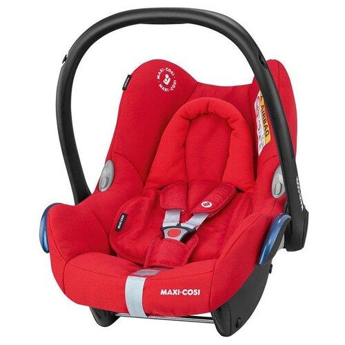 Автокресло-переноска группа 0+ (до 13 кг) Maxi-Cosi CabrioFix + FamilyFix, nomad red автокресло группа 1 2 3 9 36 кг little car ally с перфорацией черный