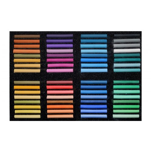 Пастель Аква-Колор художественная 64 цвета