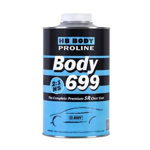Автомобильный лак HB BODY 699 2:1 HS SR 1000 мл