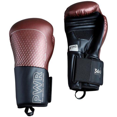 Перчатки боксерские 500 ERGO бордовые Размер 12 OUTSHOCK X Декатлон Размер 12 OUTSHOCK X Декатлон