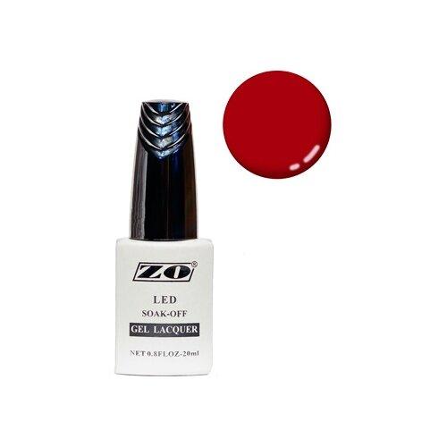 Купить Гель-лак для ногтей ZO GL, 20 мл, 258 вишневый матовый