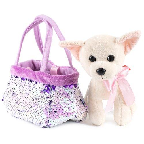 Собачка в сумочке-переноске FANCY