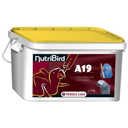 Versele-Laga корм NutriBird A19 для птенцов средних и крупных попугаев 3000 г