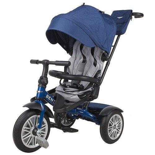 Купить Трехколесный велосипед-коляска Bentley BN2 2021, синий, Трехколесные велосипеды