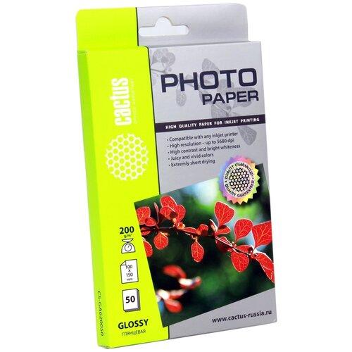Фото - Бумага cactus А6 CS-GA620050 200 г/м² 50 лист., белый бумага cactus 914 мм cs lfptr 91445 90 г м² 45 м белый