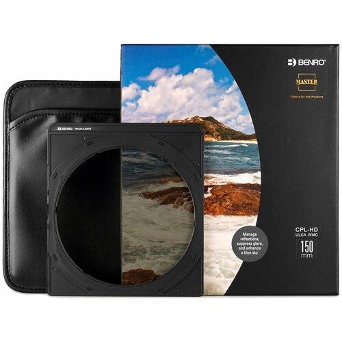 Фото - Benro Master CPL-HD ULCA WMC 150 мм светофильтр поляризационный для FH150М2 benro master harden series reverse edged graduated nd gnd8 0 9 светофильтр градиентный 100x150 мм