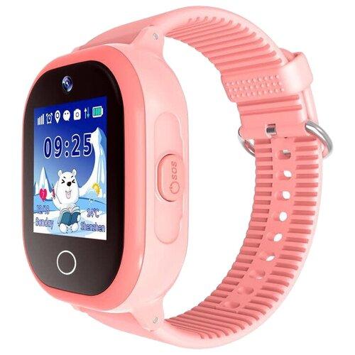 Детские умные часы Smart Baby Watch W9 Plus, розовый умные часы smart baby watch t58 золотистый