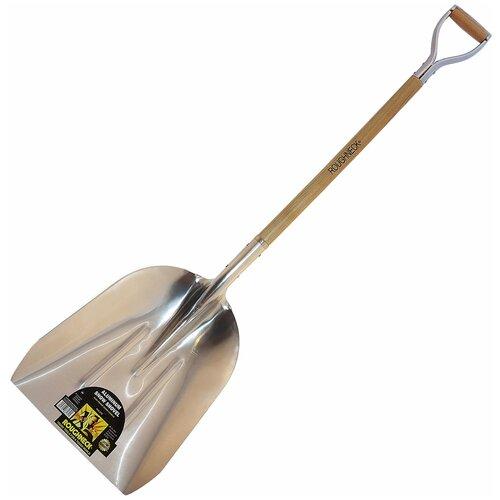 Лопата снегоуборочная ROUGHNECK, #10 с D деревянной ручкой (37