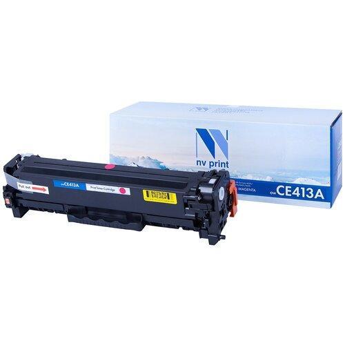 Картридж NV Print CE413A Magenta для HP, совместимый картридж nv print cf411a для hp совместимый