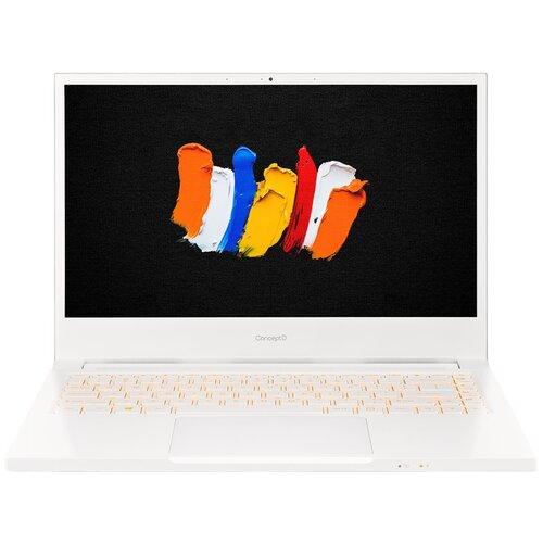"Ноутбук Acer ConceptD 3 CN314-72G-761D (Intel Core i7 10750H 2600MHz/14""/1920x1080/16GB/512GB SSD/NVIDIA GeForce GTX 1650 Ti 4GB/Windows 10 Pro) NX.C5UER.001 белый"