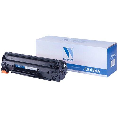 Фото - Картридж NV Print CB436A для HP, совместимый картридж nv print cf403a для hp совместимый