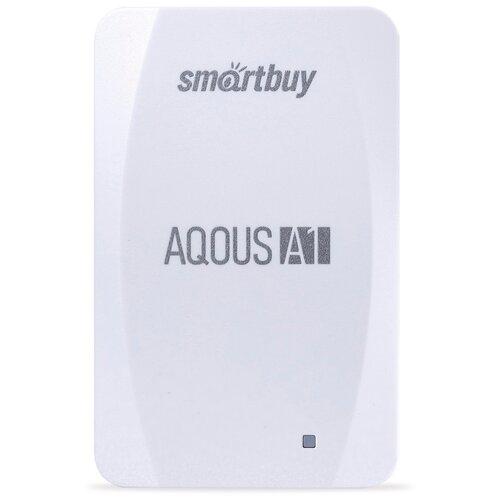 Фото - Внешний SSD Smartbuy Aqous A1 512GB USB 3.1 БЕЛЫЙ внешний ssd smartbuy aqous a1 512gb usb 3 1 серый