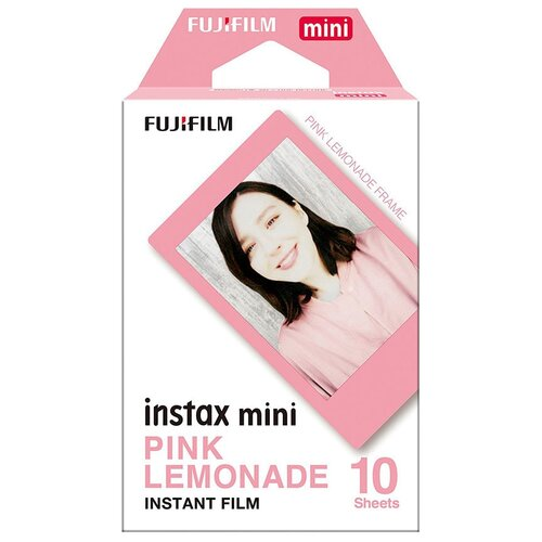 Картридж Fujifilm Instax Mini Pink Lemonade, 10 снимков