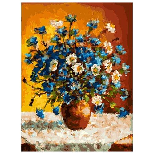Картина по номерам 30х40 см Белоснежка 385-AS Луговые цветы белоснежка картина по номерам листок 30х40 см 046 as