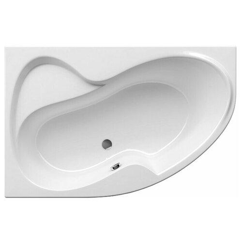 Ванна RAVAK Rosa II 160x105 без гидромассажа акрил угловая левосторонняя ванна ravak asymmetric 150x100 без гидромассажа акрил угловая левосторонняя