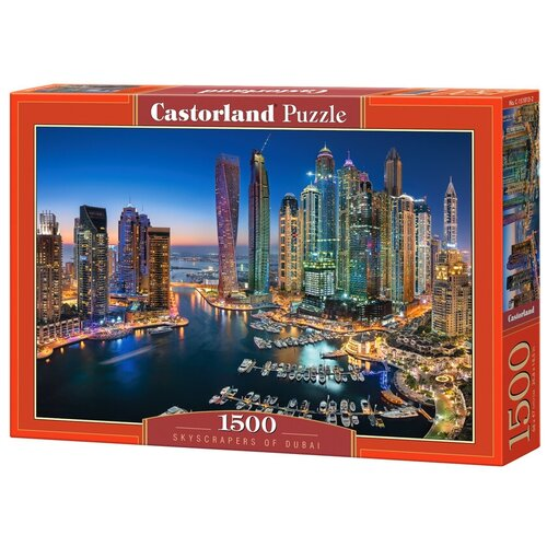 Пазл Castorland Skyscrapers of Dubai (C-151813), 1500 дет. пазл castorland kittens play time c 151639 1500 дет