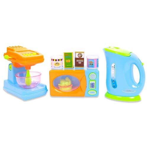 Фото - Игровой набор ABtoys Помогаю маме PT-00484 разноцветный набор продуктов с посудой abtoys помогаю маме pt 00395 разноцветный