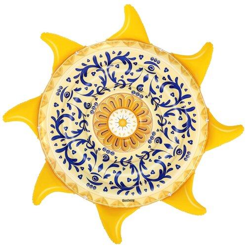 Матрас Bestway Sunny Sicily 226x226 см желтый