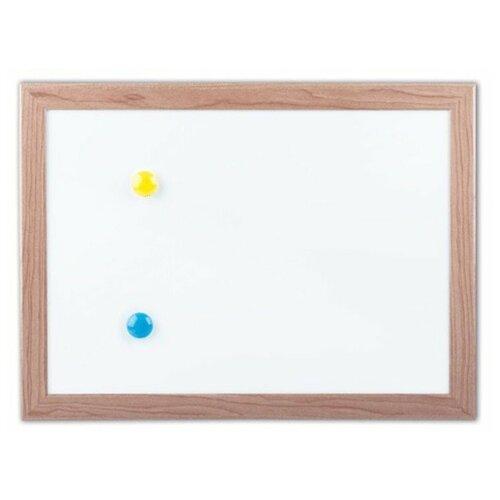 Доска магнитно-маркерная BRAUBERG 231993 (25.4х34.2 см) белый/коричневый