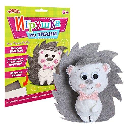Купить 2391197 Набор для создания игрушки из фетра 'Ежик' + бисер, игла, мулине, Арт Узор, Изготовление кукол и игрушек