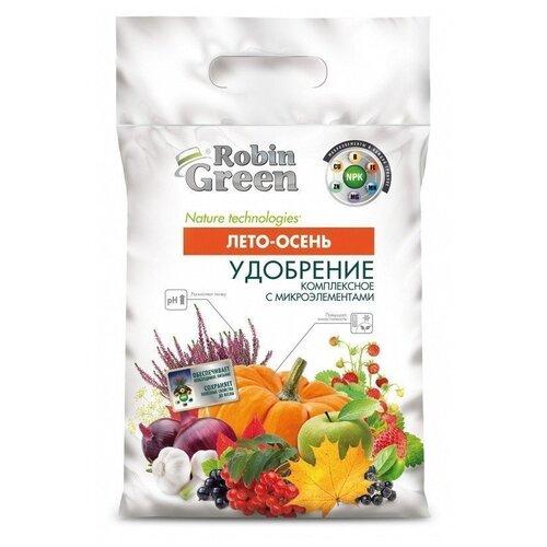 Удобрение Robin Green Лето-Осень, 5 кг удобрение robin green лето осень 5 кг