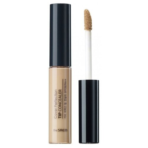 Фото - The Saem Консилер Cover Perfection Tip Concealer, оттенок 2.25 sand the saem консилер стик cover perfection stick concealer оттенок 1 5 natural beige