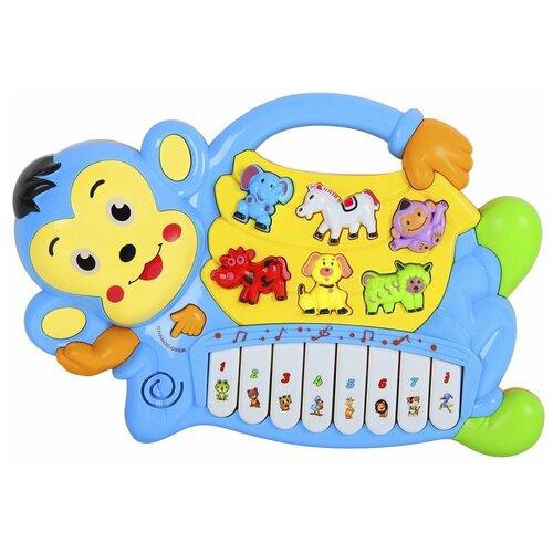 Smart Baby пианино Обезьяна JB0333396 синий