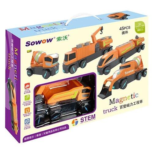 Конструктор Sowow Magnetic Truck N12 Строительная техника