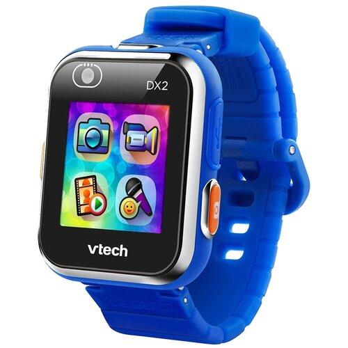 Детские умные часы VTech Kidizoom Smartwatch DX2, синий