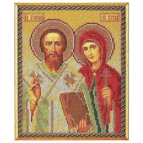 Купить Набор для вышивания «Радуга бисера» В-186 Св. Киприан и Устинья, Наборы для вышивания