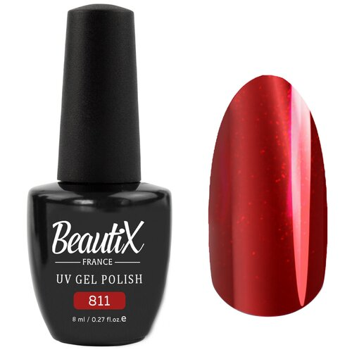Гель-лак для ногтей Beautix UV Gel Polish, 8 мл, 811 гель лак для ногтей beautix uv gel polish 8 мл 615