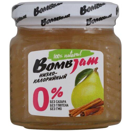 Фото - Джем низкокалорийный BombBar Груша-Корица без сахара, банка, 250 г джем yummy яблоко корица без сахара 350 г